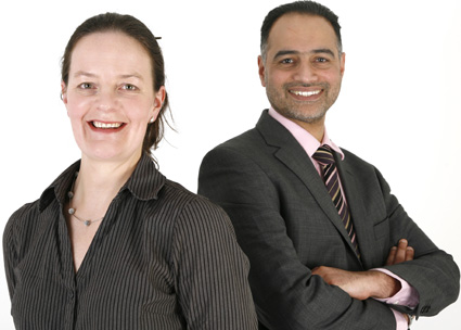 Solange de Carvalho and Mohammed Amjad
